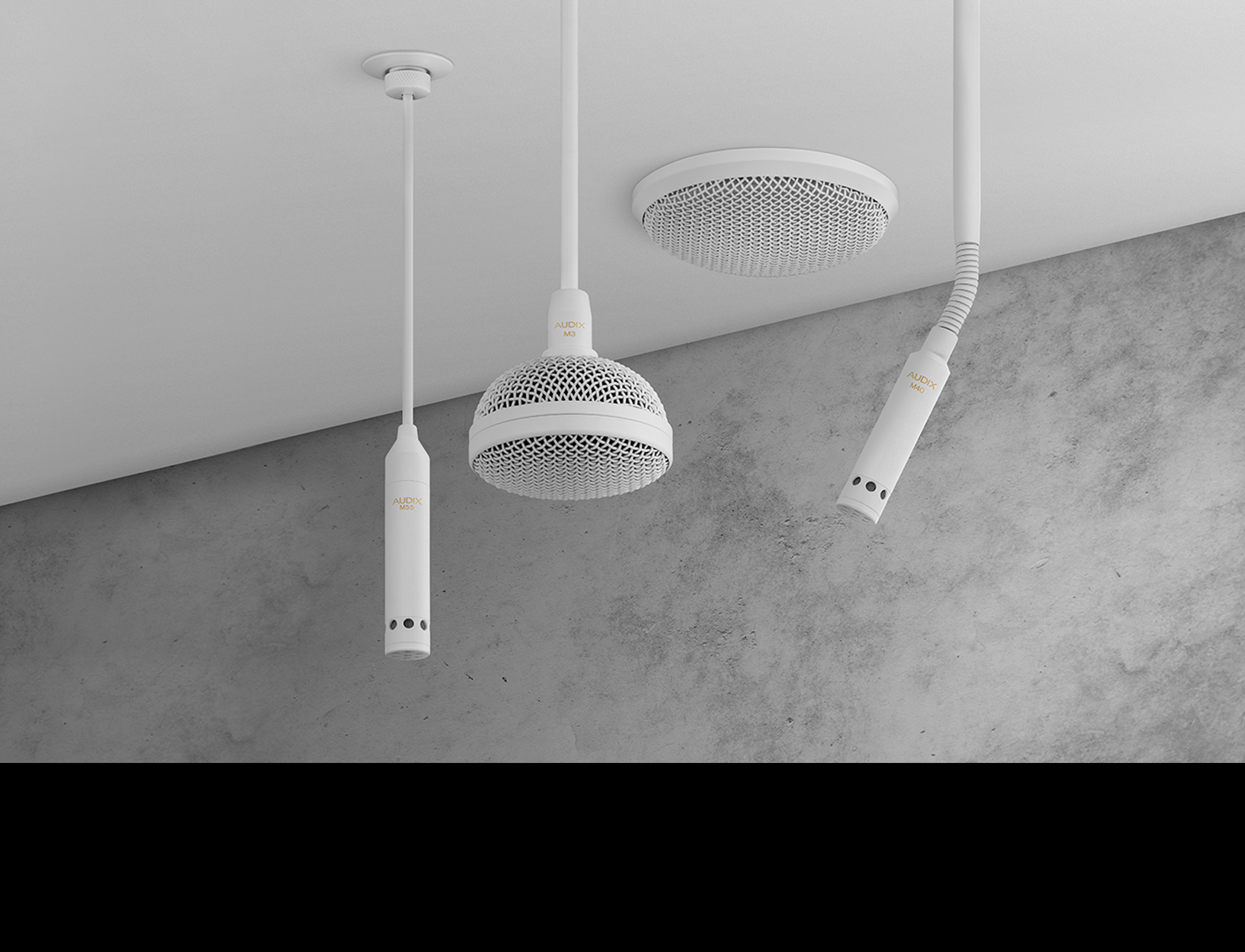 Audix Install Microphones - The Right Choice For Ceiling Mics